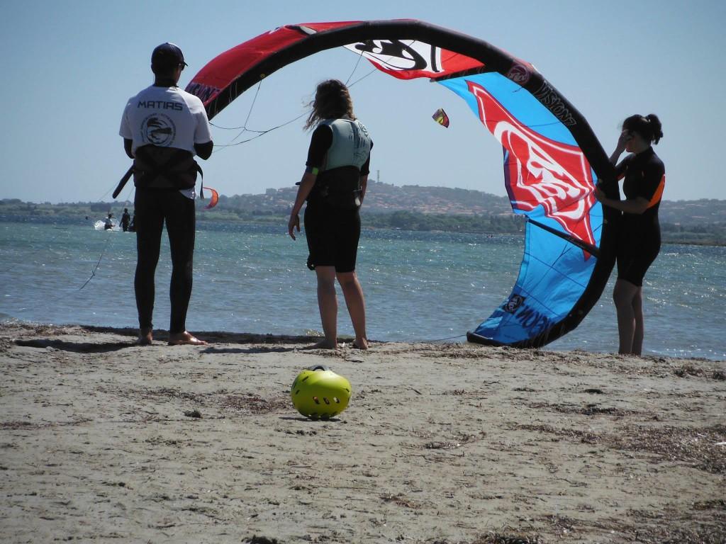 Cours de Kitesurf en Sardaigne