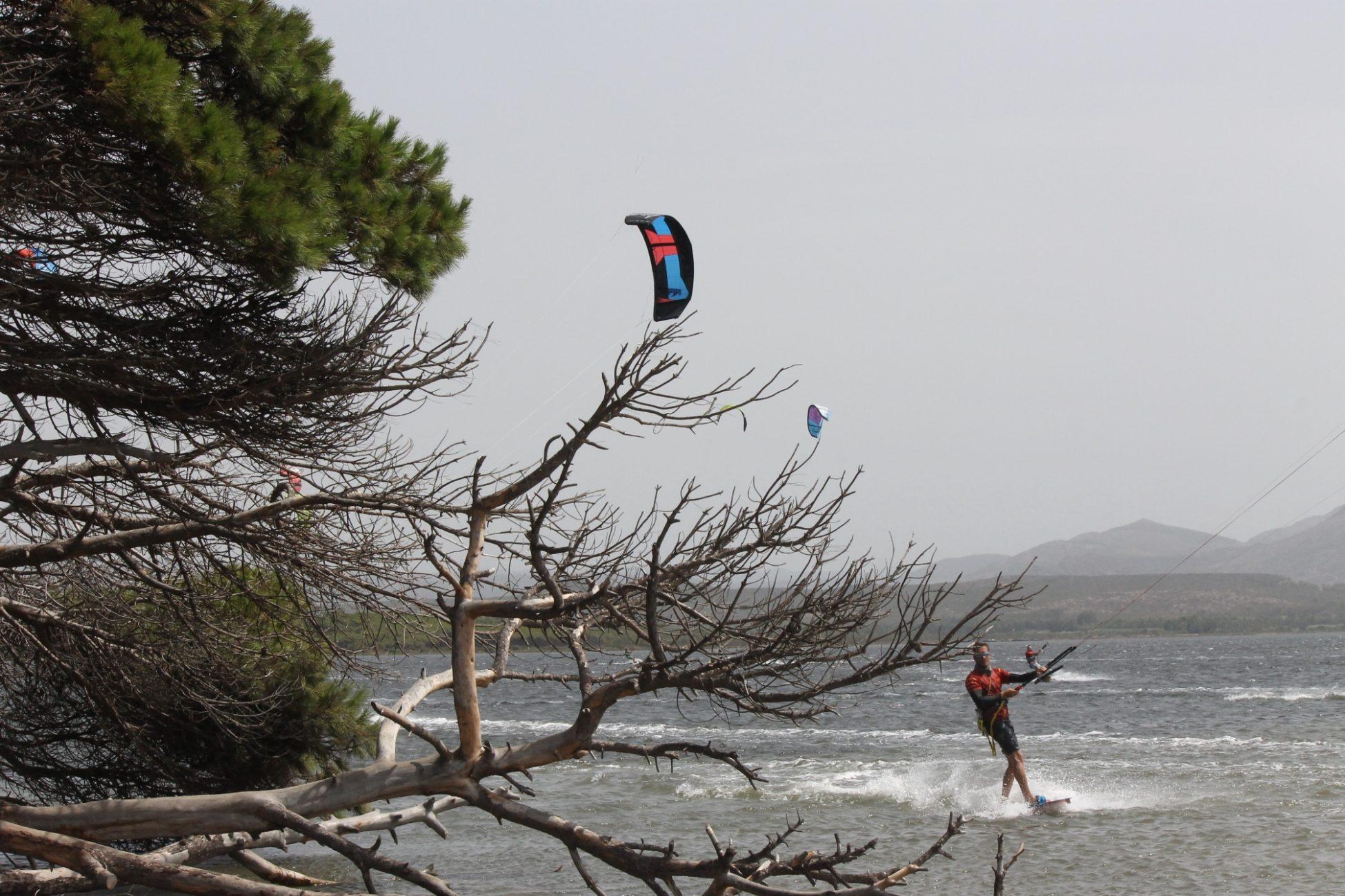 kitesurf a Punta Trettu Sardegna