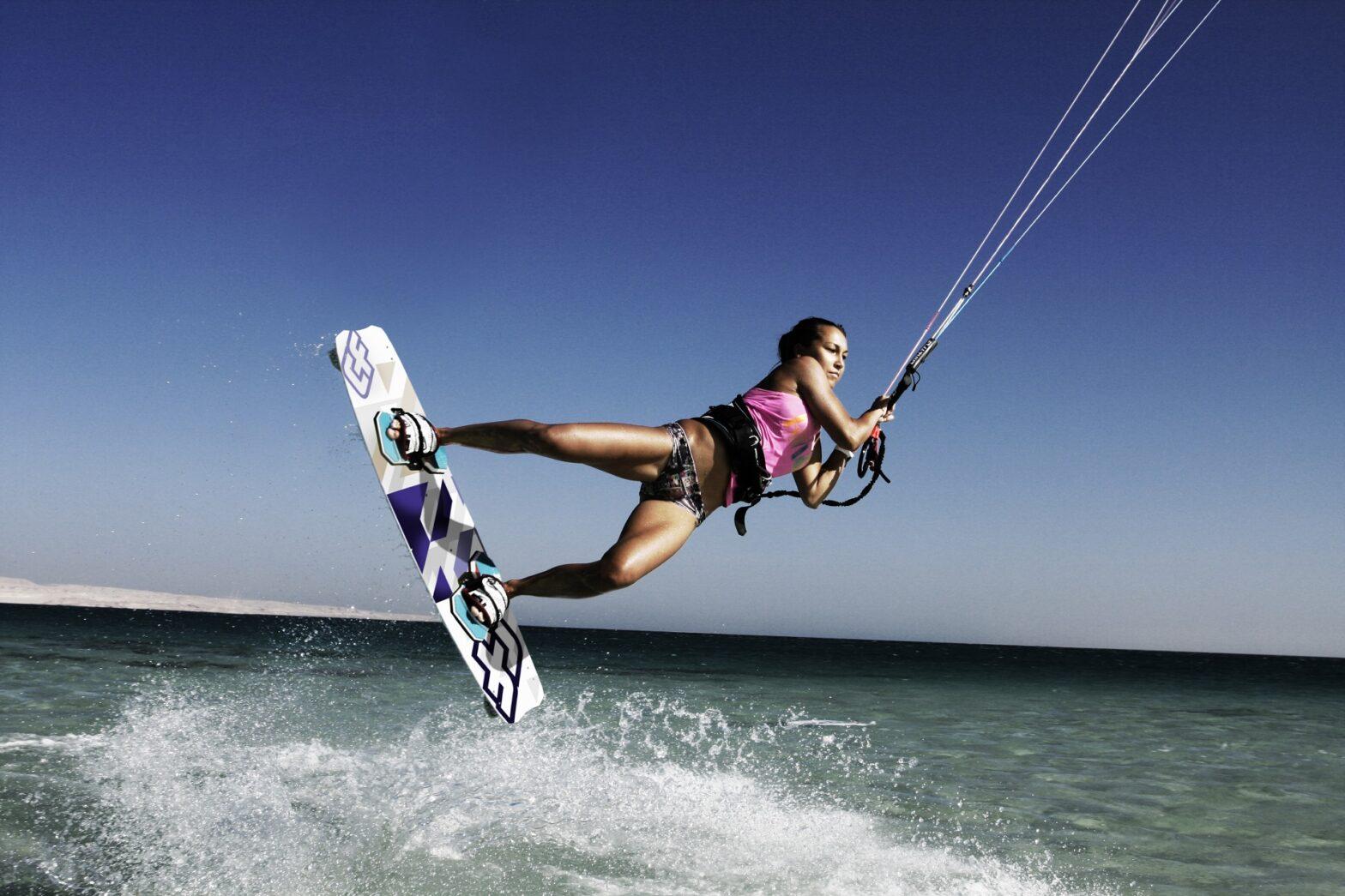 Kitesurfen Sardinien: Kitesurf Giorgino, Sardinien Kite Spot in Cagliari