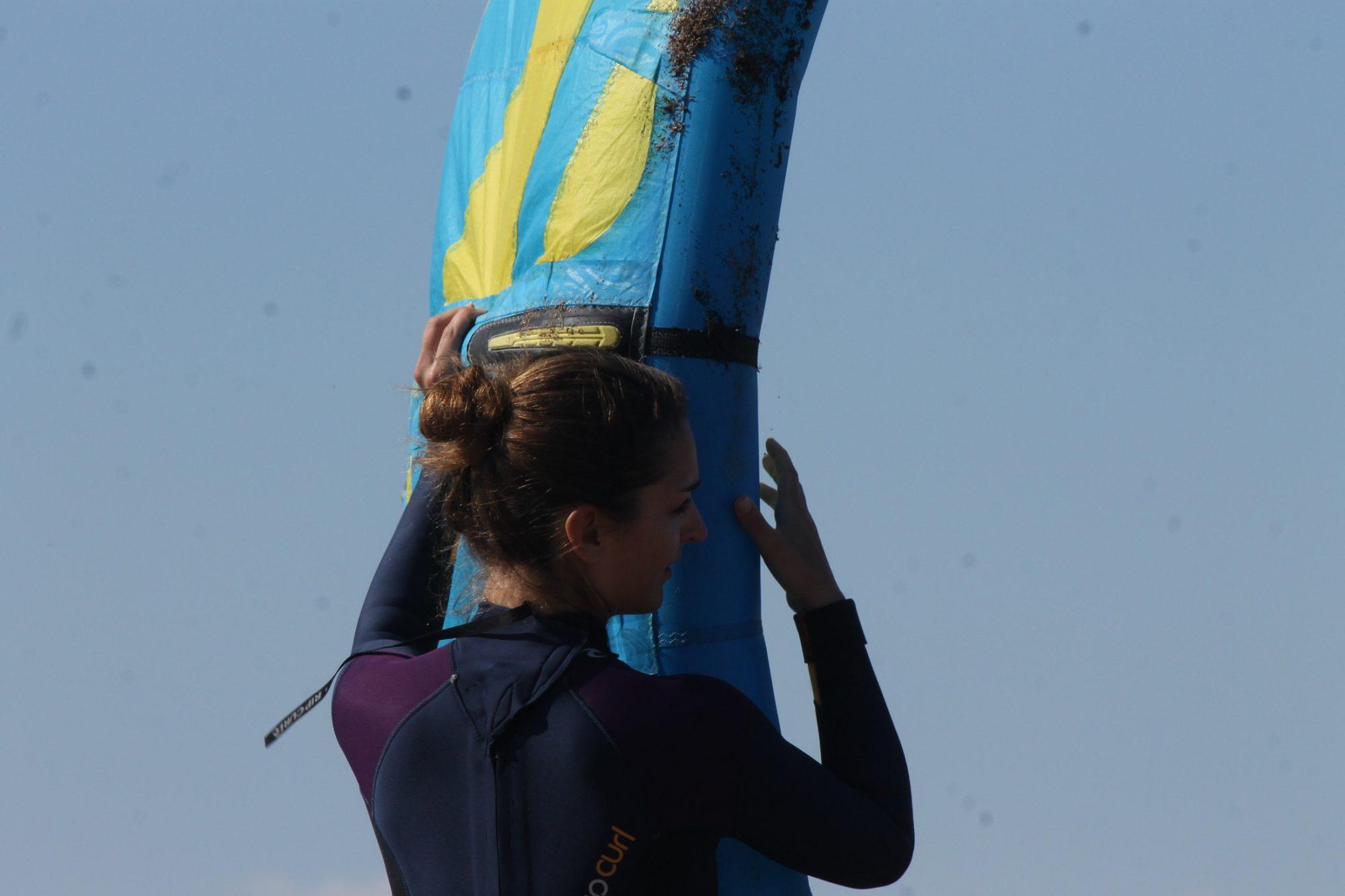 Mini KiteKurs in Sardinien: Kiten Lernen auf Sardinien