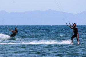 Kitesurfen auf Sardinien in Cagliari