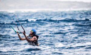 Obama Kitesurfen