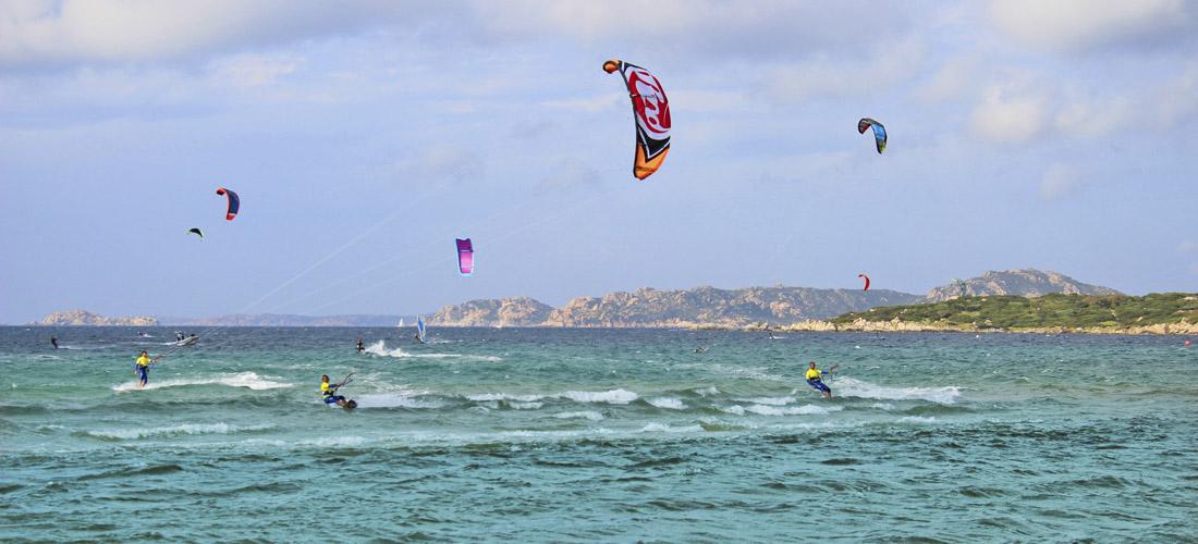Kitesurfen in Porto Pollo, Sardinien Kite Spot