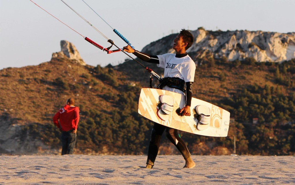 Kite Surfing in Cagliari Sardinia