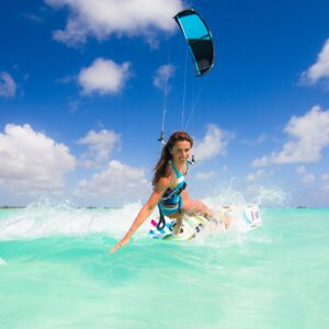 Kiteboarding in Sardinia