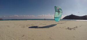 Kitesurfing Vilasmius, Sardinia