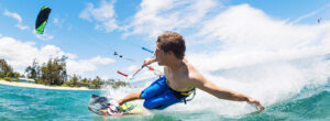 Kitesurfing in Sardinia