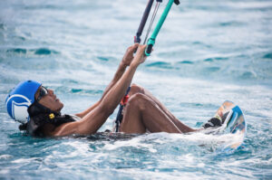 Obama Learn to kitesurf
