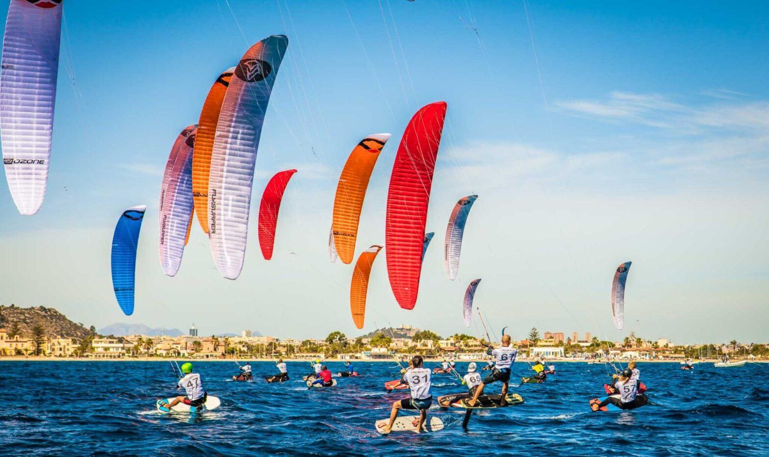 Kiteboarding Sardinia Kite Foil Gold Cup 2017 in Cagliari