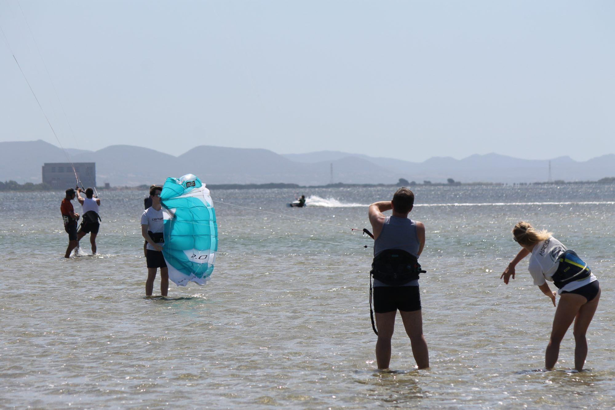 Kite Spot Punta Trettu Sardinia