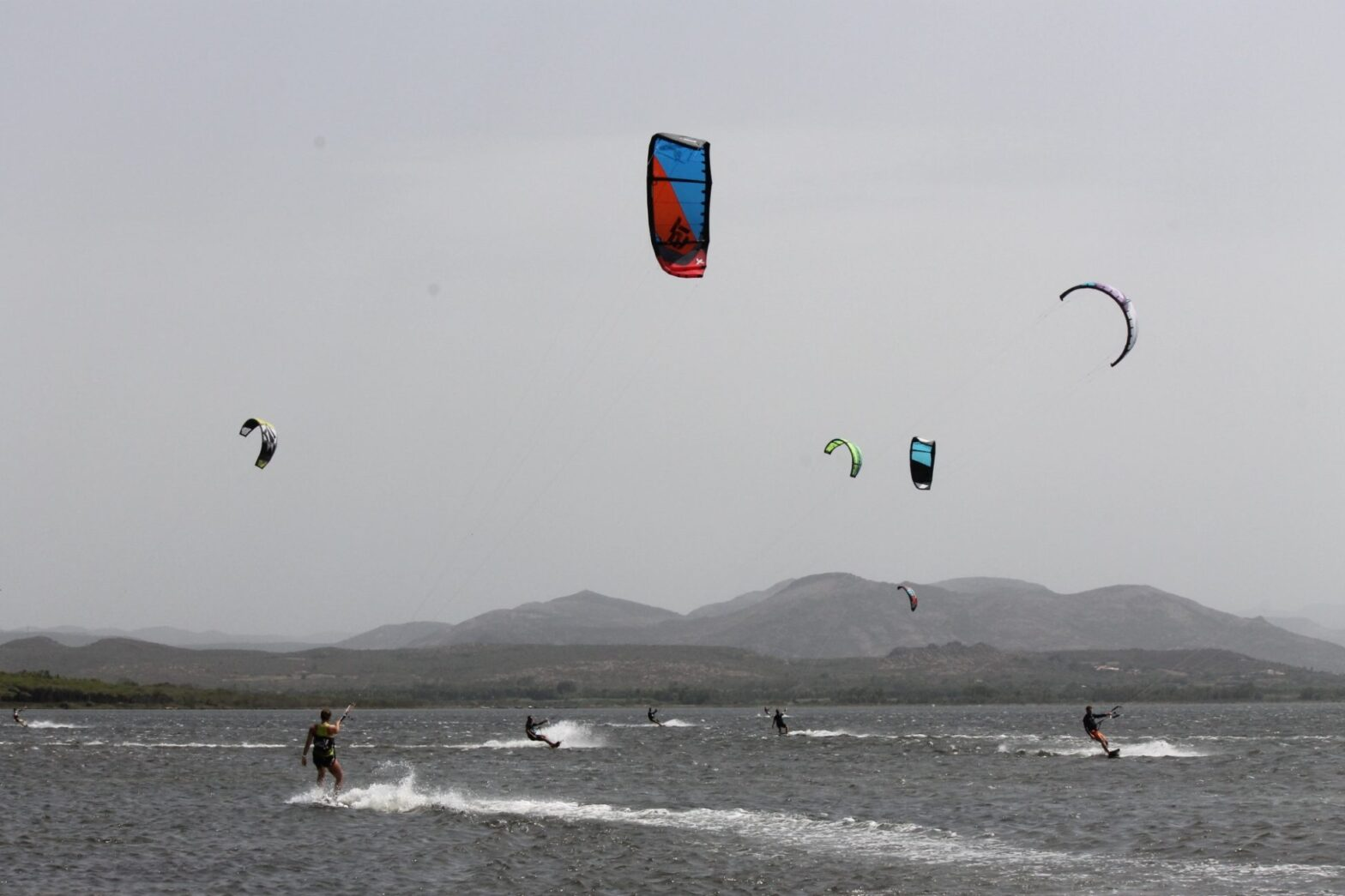 Kitesurfing Punta Trettu the best kite spot of Sardinia