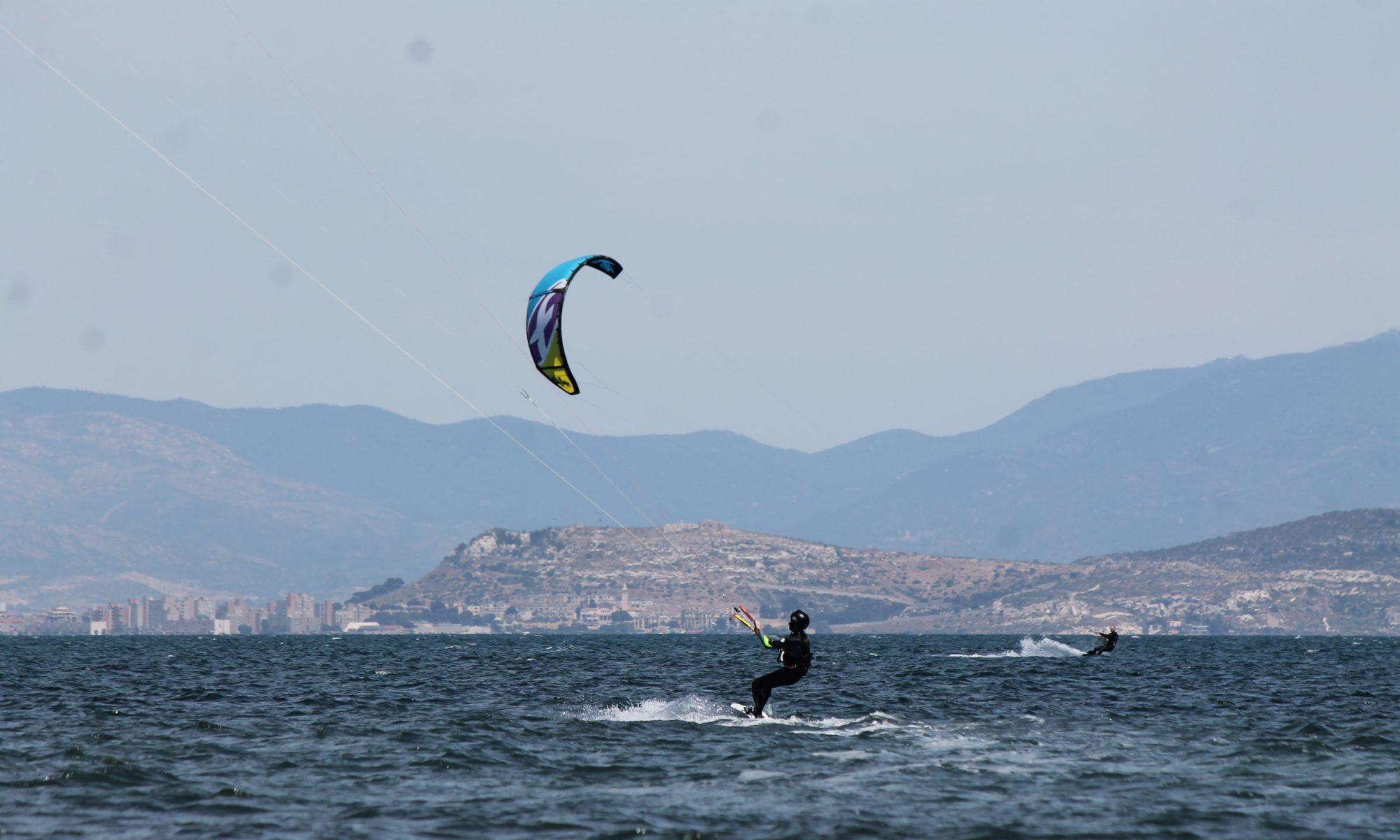 Kitesurfing Giorgino Beach, Kitesurfing Sardinia